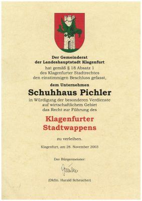 Stadtwappen Schuhhaus Pichler JPEG-001